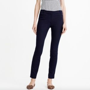 J.Crew Lexie Pants Skinny Leg Black 10